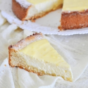 Boast of Roman food: torta di ricotta (Roman cheesecake)