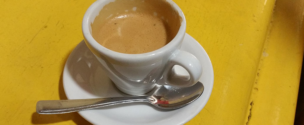 how to order best espresso in rome