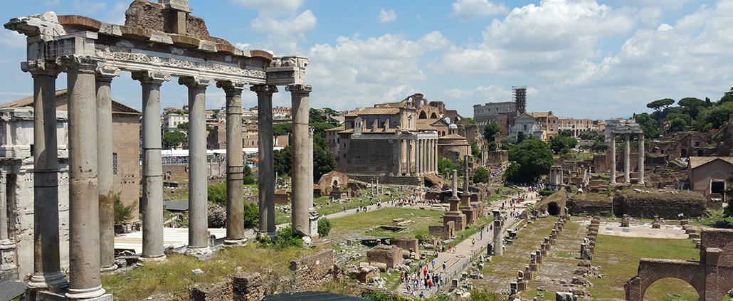 where to eat foro romano