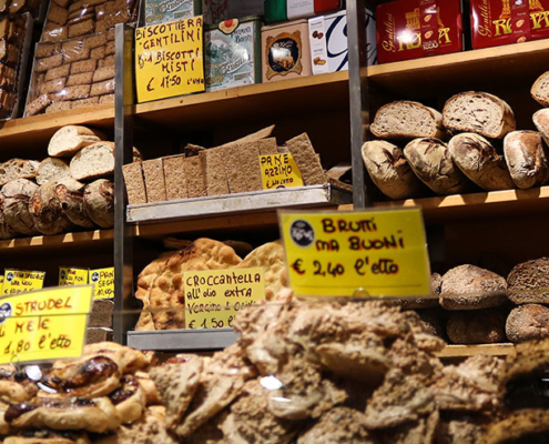 Bakeries in Rome: traditional bread