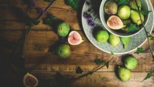 figs and ham - prosciutto e fichi