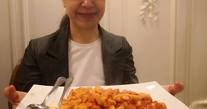 gnocchi dumplings rome food