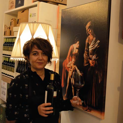 Caravaggio experience wine at the time pf Caravaggio