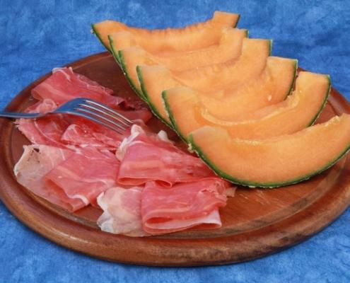 ricette prosciutto e melone