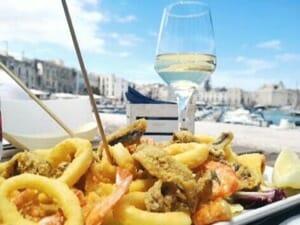 frittura di pesce abbinamento vino - winepairing tips prosecco