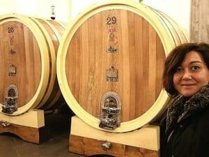 botte grande affinamento - wine aging in large cask