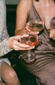 champagne glass bicchiere