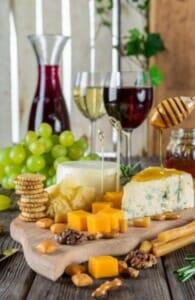 formaggio e vino wine and cheese